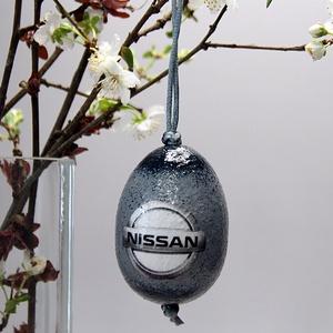 NISSAN húsvéti tojás ; Ajándék NISSAN rajongók részére, Otthon & Lakás, Dekoráció, Dísztárgy, Decoupage, transzfer és szalvétatechnika, Meska