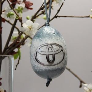TOYOTA húsvéti tojás ; Ajándék TOYOTA rajongók részére világos, Otthon & Lakás, Dekoráció, Dísztárgy, TOYOTA húsvéti tojás ; Ajándék TOYOTA rajongók részére, hungarocell 7 cm  Igazán egyedi húsvéti aján..., Meska