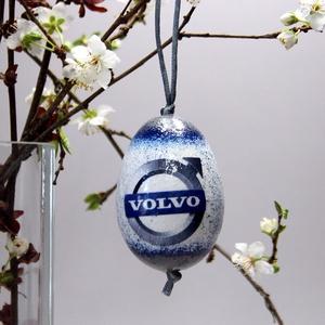 VOLVO húsvéti tojás ; Ajándék VOLVO rajongók részére világos, Otthon & Lakás, Dekoráció, Dísztárgy, Decoupage, transzfer és szalvétatechnika, Meska