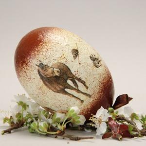 Húsvéti tojás Lovasoknak ; Ajándék tojás húsvétra ló motívummal - Meska.hu