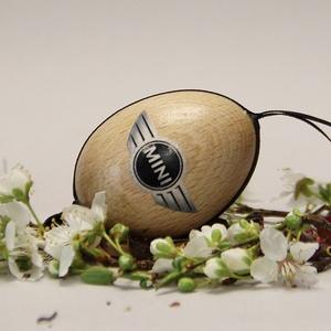 MINI húsvéti tojás ; Ajándék Mini rajongók részére , Otthon & Lakás, Dekoráció, Dísztárgy, Decoupage, transzfer és szalvétatechnika, Meska