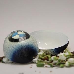 BMW húsvéti tojás ; Ajándék BMW rajongók részére világos, Otthon & Lakás, Dekoráció, Dísztárgy, Decoupage, transzfer és szalvétatechnika, Meska