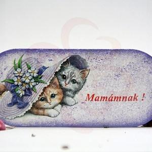 """Anyák napjára HŰTŐMÁGNES - ANYA, MAMA - képpel, felírattal is , Otthon & Lakás, Konyhafelszerelés, Hűtőmágnes, Decoupage, transzfer és szalvétatechnika, Anyák napjára HŰTŐMÁGNES \""""Mamámnak\"""" \nANYA, MAMA - saját képpel, felírattal is elkészítjük.\nEgyedi aj..., Meska"""