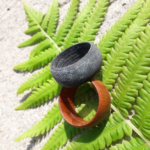 Farmer Gyűrű, Ékszer, Gyűrű, FARMER rétegekből összepréselt és formára csiszolt gyűrű, a természetesség jegyében. Fa ékszerekkel ..., Meska