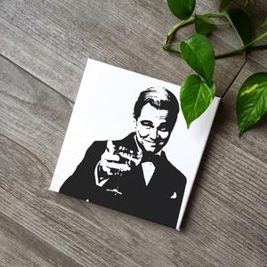 Leonardo DiCaprio - Gatsby vászonkép, Kép & Falikép, Dekoráció, Otthon & Lakás, Fotó, grafika, rajz, illusztráció, Festészet, A kép jó minőségű, keretre feszített vászonra készül, mely közvetlenül falra akasztható. A mintát ké..., Meska