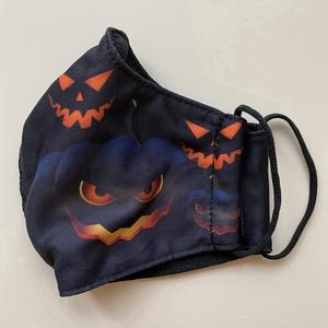Halloween gyermek szájmaszk, maszk, , Maszk, Arcmaszk, Gyerek, Varrás, Halloween gyermek szájmaszk, maszk. Fotónyomott technikával készült.\nA szájmaszk anyaga kívül vászon..., Meska