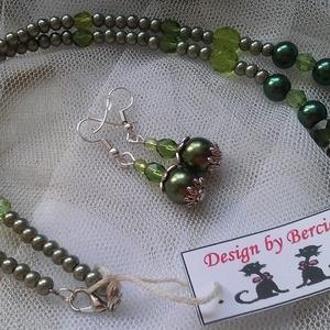 Green and go ékszer szett (designbybercica) - Meska.hu