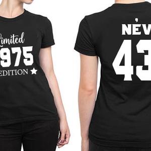 Szülinapos póló nőknek 40f59bcd5a