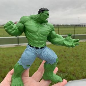 Hulk szobor (3D-nyomtatott, kézzel festett), Játék & Gyerek, Plüssállat & Játékfigura, Más figura, Mindenmás, 17 cm magas Hulk-szobor, 3D-nyomtatási technológiával, kézzel festve, akril festékkel, és lakkozva.\n..., Meska