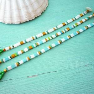 I. Japán, kétlyukú TILA gyönygökből készült karkötők  - ékszer - karkötő - gyöngyös karkötő - Meska.hu