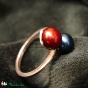 Dupla elegancia, Ékszer, Gyűrű, Szoliter gyűrű, Ötvös, Ékszerkészítés, Meska