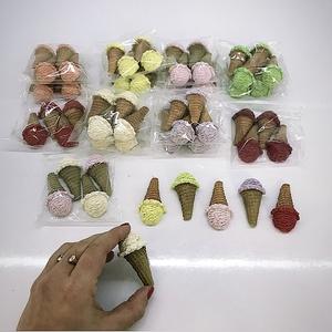 Kerámia fagyi , Csokor & Virágdísz, Dekoráció, Otthon & Lakás, Virágkötés, Kerámiaporból készült Dekor fagyi\nA csomag tartalma 4 db \nKérhető szín:\nRózsaszín \nNarancs \nMálna \nT..., Meska