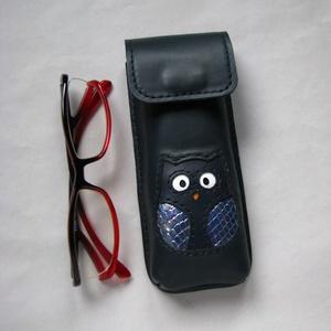 Kék hologramos bagoly mintás bőr tolltartó szemüvegtok, Táska, Divat & Szépség, Táska, Pénztárca, tok, tárca, Szemüvegtartó, Bőrművesség, Felnőtteknek és gyerekeknek is szívesen ajánlom egyaránt.\nBelső mérete: 15 x 5,5 x 2 ~ 2,5 cm. Kb 8~..., Meska