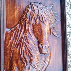 Ló - faragás, Otthon & Lakás, Dekoráció, Dísztárgy, Famegmunkálás, Meska