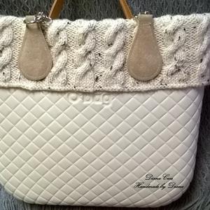 Kézzel kötött gallér O bag táskára (Diana3021) - Meska.hu