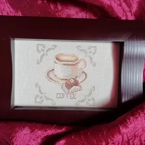 Keresztszemes hímzés - kávé imádóknak (Diana3021) - Meska.hu