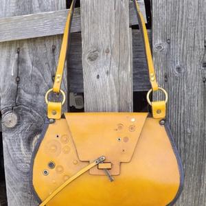 Mustárszínű steampunk táska (dimenzio) - Meska.hu