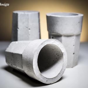 Design beton mini kaspó (dimethm) - Meska.hu