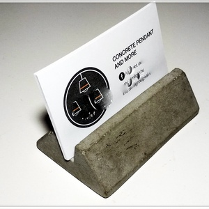 design beton névjegykártya tartó, Lakberendezés, Otthon & lakás, Tárolóeszköz, Kőfaragás, Design beton névjegykártyatartó, akár színesben is :)\n, Meska