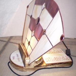 Tiffany feliratozható hangulatlámpa (diszuvegezes) - Meska.hu