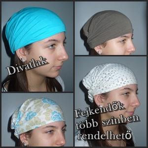 Többféle színből rendelhető hajpántok, fejkendők (Divatlak) - Meska.hu