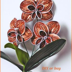 Nespresso kapszulából készített orchidea (DIYorbuy) - Meska.hu
