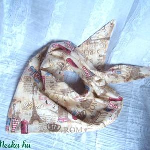 SZÁJMASZK, arcmaszk  helyett, KENDŐ, Táska, Divat & Szépség, Ruha, divat, Sál, sapka, kesztyű, Kendő, NoWaste, Textilek, Kendő, Maszk, szájmaszk, Varrás, Azoknak javaslom, akik nem szeretnének maszkot hordani!:)\n\n3 szög alakú kendőcske, ha a felső részét..., Meska