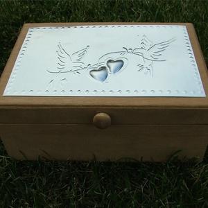 Eljegyzési doboz - felirattal is rendelhető! (Dobozmanufaktura) - Meska.hu