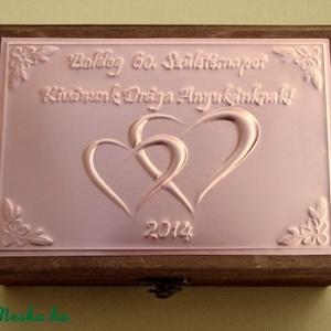 Születésnapi dobozka egyedi felirattal (Dobozmanufaktura) - Meska.hu