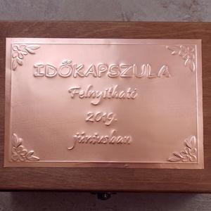 Időkapszula ballagó osztályok számára, tanároknak (Dobozmanufaktura) - Meska.hu