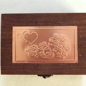 Valentin-napi ékszertartó dobozka (Dobozmanufaktura) - Meska.hu