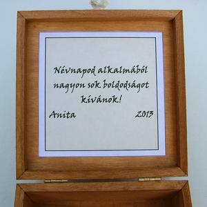 Pávás díszdoboz egyedi alkalomra (Dobozmanufaktura) - Meska.hu