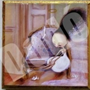 Angyali pillanat Miniart, Otthon & lakás, Képzőművészet, Grafika, Illusztráció, Fotó, grafika, rajz, illusztráció, MiniArt képeim mérete 10 cm x 10 cm, a nyomatok fából készült vakrámára vannak felkasírozva. A vakrá..., Meska