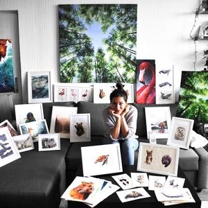 Vászonkép másolat (fa keretre feszítve) - bármelyik festményemről, Otthon & lakás, Képzőművészet, Festmény, Akril, Festészet, Itt tudod megvásárolni a vakrámára feszített vászonkép másolatát bármelyik, a boltomban megtalálható..., Meska