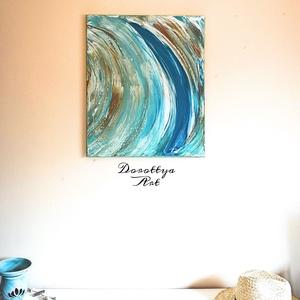Soul Surfer(Eladva), Otthon & lakás, Dekoráció, Kép, Lakberendezés, Falikép, Festészet, Soul Surfer\nAhogyan a nevében is benne van. Lélek, Szabadság, Óceán és a kék ég.\nKellemes nyári kép,..., Meska