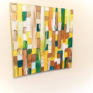 Autumn, Művészet, Festmény, Akril, Festészet, Kellemes őszies hangulatú kép.\nMérete: 40x40, Meska