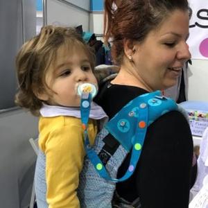 Softshell Pántvédő hordozóhoz (fixie játékrögzítő csatolható hozzá), Kenguru & Hordozó, 3 éves kor alattiaknak, Játék & Gyerek, Varrás, Praktikus pántvédő hordozókra, softshell anyagból \nA pántvédő nem csak esztétikus, de nagyon praktik..., Meska
