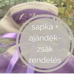 Sapka  tervezés egyedi elképzelés alapján + névre szóló ajándékzsák, Sapka, Sál, Sapka, Kendő, Ruha & Divat, Kötés, Horgolás, Egyéni elképzelés alapján bármilyen fonalból, bármilyen normál sapka kérhető.\nKülönösen ajánlott ház..., Meska