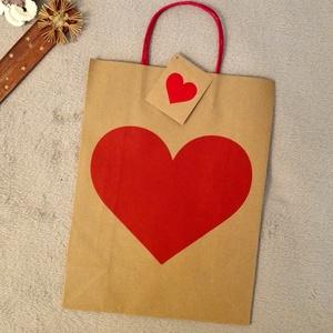 Ajándék csomagolás papír zsák környezetbarát zacskó, Otthon & Lakás, Papír írószer, Ajándékzsák & Csomagolás, Újrahasznosított alapanyagból készült termékek, Meska