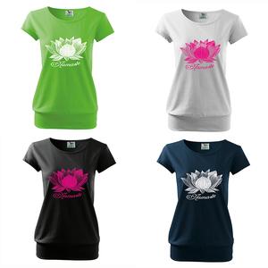 Női Lotusz city póló, Lotusz, Namaste (DrasiShop) - Meska.hu