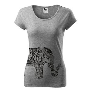 Női Elefántos póló, elefánt, Elephant, India, jóga, Yoga, shirt (DrasiShop) - Meska.hu