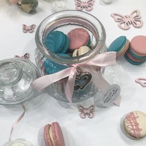 Macaron üvegben  - élelmiszer - édesség - Meska.hu