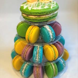 Macaron torony (4 emeletes) - Meska.hu