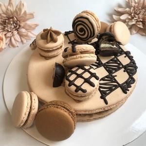 Óriás MACARON torta  - Meska.hu