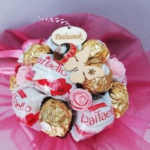 Csokicsokor, egyedi,különleges, Otthon & Lakás, Dekoráció, Csokor & Virágdísz, Virágkötés, Mindenmás, Barmilyen alkalomra elkeszitem igeny szerint a csokicsokrokat.Ballagásra,szülinapra,névnapra,köszönő..., Meska