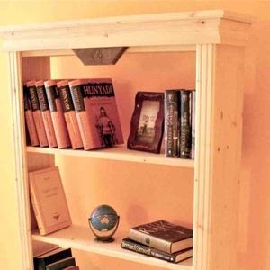 Könyvespolc, könyvszekrény, Szekrény, Bútor, Otthon & Lakás, Famegmunkálás, Könyvespolc\n\nEgy kis segítség, hogy könyveidet rendezetten, állapotukat megőrizve, egyben mutatósan ..., Meska