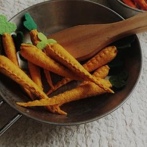 Filc répa apró citromsárga, Gyerek & játék, Varrás, Gyermekek kicsi konyhájába készültek ezek a zöldségek.\n\nAnyaga gyapjúfilc, töltete gyapjú, aprólékos..., Meska