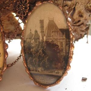 Gyűrű antik képeslap - különleges alkalom - bármilyen korosztály - egyedi megjelenés - klasszikus darab - időtlen stílus (Ediartglass) - Meska.hu