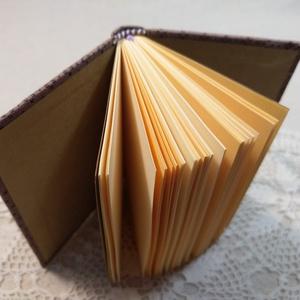 A/7 Lilás mályva , gumis notesz - otthon & lakás - papír írószer - jegyzetfüzet & napló - Meska.hu
