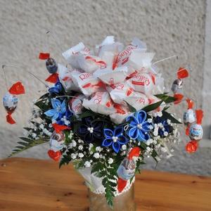 Ballagási örökcsokor, Csokor, Dekoráció, Otthon & lakás, Ballagás, Ünnepi dekoráció, Mindenmás, Virágkötés, Ballgasi örökcsokor.\n\nHa szeretnénk egy ballagást is egyedivé és örökké tenni jó választás lehet egy..., Meska